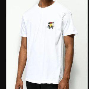 10 Deep Mind Blowed Smile Face White T-Shirt